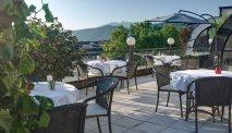 Vanaf het dakterras van Hotel Atrigon hebt u een magnifiek uitzicht