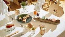 Romantic Hotel Excelsior kan ook een uitgebreide high-tea aan u serveren