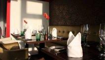 Het sfeervolle restaurant van Seeparkhotel Klagenfurt