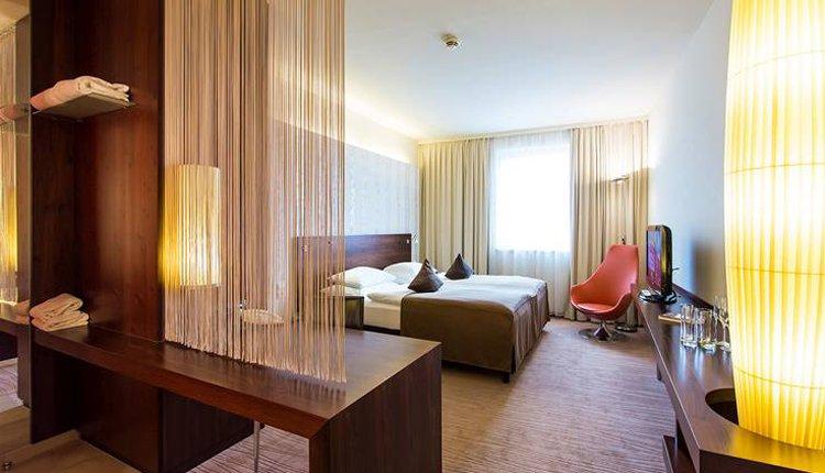 De tweepersoonskamer Standard in Seeparkhotel Klagenfurt