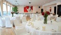 Het sfeervolle restaurant van Hotel Sandwirth