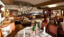 Het gezellige restaurant van Familiengut Burgstaller