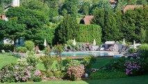 De parkachtige tuin van Familiengut Burgstaller