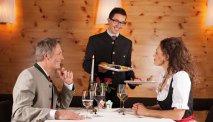 Het restaurant in Villa Seilern Vital Resort serveert heerlijke gerechten