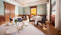 De ontbijtzaal in Villa Seilern Vital Resort