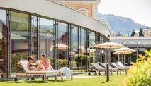 Het wellnesscentrum van Villa Seilern Vital Resort is zeer uitgebreid en modern