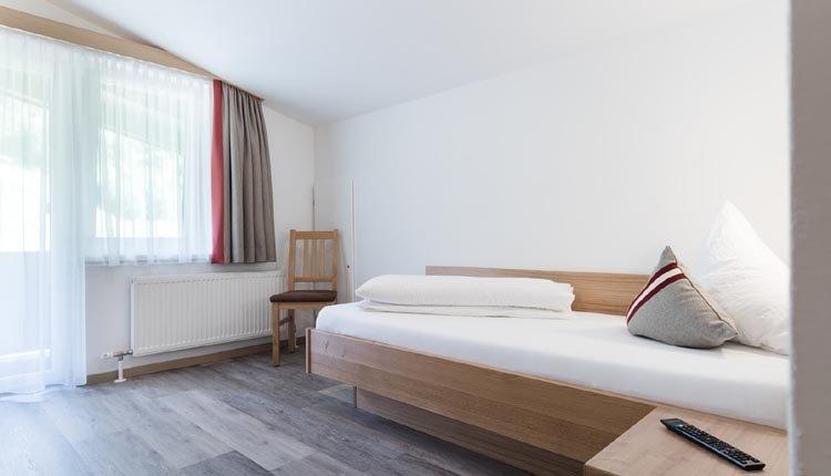 De eenpersoonskamers van Gasthof Venedigerblick zijn comfortabel