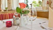 In het restaurant van Gasthof Venedigerblick kunt u heerlijk eten