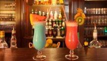 De gezellige bar van Hotel Ahornhof