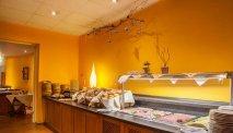 Elke morgen staat er een heerlijk uitgebreid ontbijtbuffet voor u klaar in Hotel Ahornhof