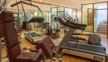 De fitnessruimte van Landgasthof Karner