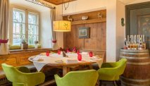 In het restaurant van Landgasthof Karner worden voortreffelijke gerechten geserveerd