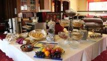 Het heerlijke ontbijtbuffet van Hotel Lindwurm