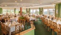 Het restaurant van Hotel Kammweg is licht en ruim