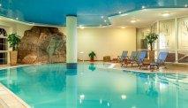 Het zwembad in Hotel Kammweg