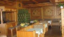 Het sfeervolle restaurant van Hotel Carossa