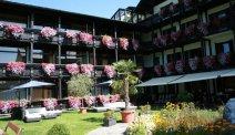 Hotel Lindwurm heeft een fantastische tuin