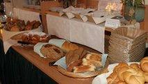 Elke morgen staat er een uitgebreid ontbijtbuffet klaar in Gasthof Brandwirt