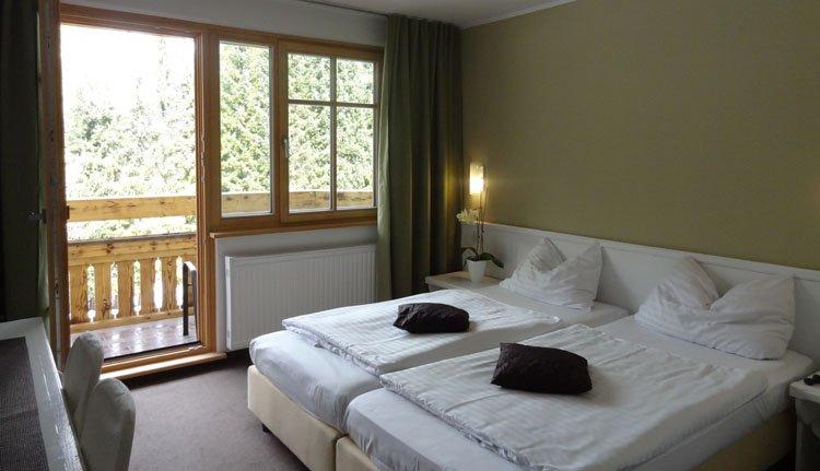 Hotel Ribno in Bled - 2-persoonskamer met balkon