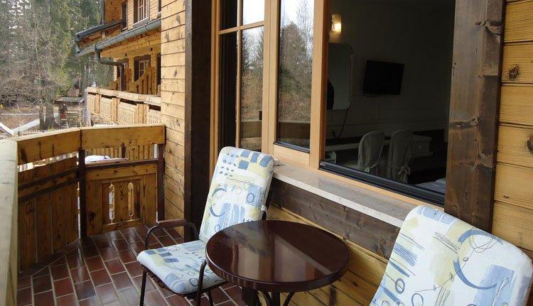 Hotel Ribno in Bled - 1-persoonskamer met balkon