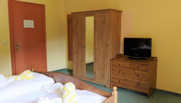 De tweepersoonskamers in Familienhotel Pillerseehof bieden veel comfort