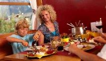 Het sfeervolle restaurant van Gut Wenghof - Family Resort