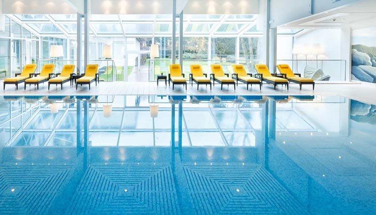 Het zwembad in Cesta Grand Aktiv Hotel & Spa