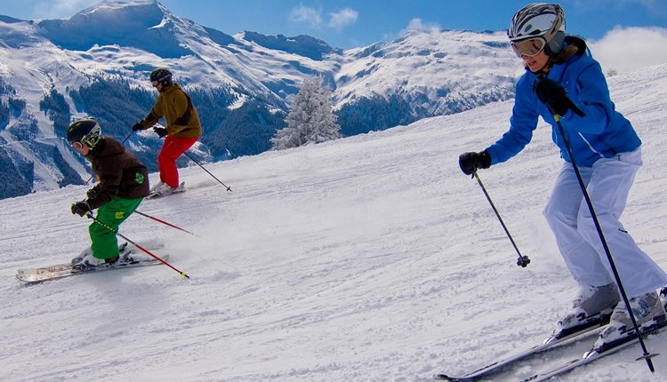 Rondom Cesta Grand Aktiv Hotel & Spa liggen mooie skigebieden
