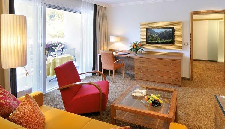 De vierpersoons Suite is zeer ruim en een comfortabel verblijf voor vier personen