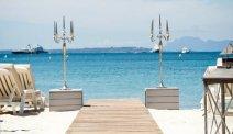 Het privé-strand van AC Hotel Marriott Ambassadeur