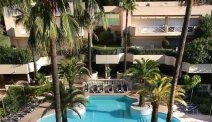 Het prachtige zwembad van AC Hotel Marriott Ambassadeur