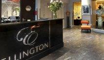 De receptie van Hotel Ellington Nice Centre