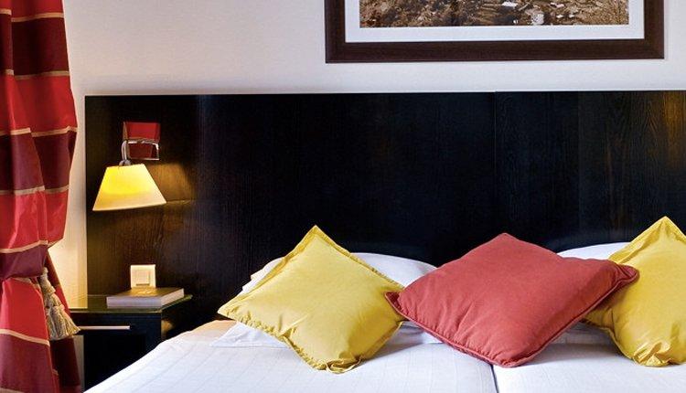 De tweepersoonskamers Deluxe zijn sfeervol en comfortabel ingericht
