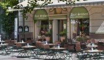 Wyndham Grand Hotel Bad Reichenhall beschikt ook over een gezellige Stübe met terras