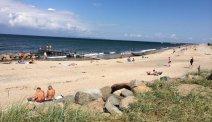 Zoals de naam doet vermoeden ligt Hotel Gilleje Strand inderdaad aan het strand