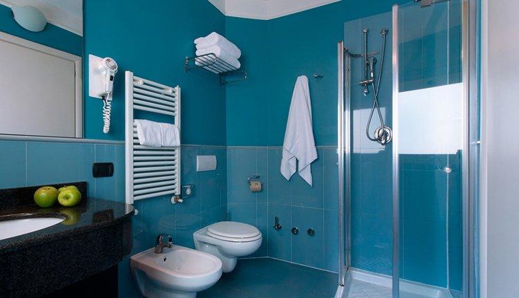 Hotel La Spezia - 2-persoonskamer, badkamer