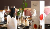 De gedekte tafels staan voor u klaar in Hotel Lindenhof
