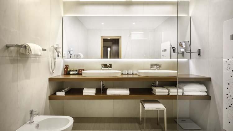 1-persoonskamer badkamer