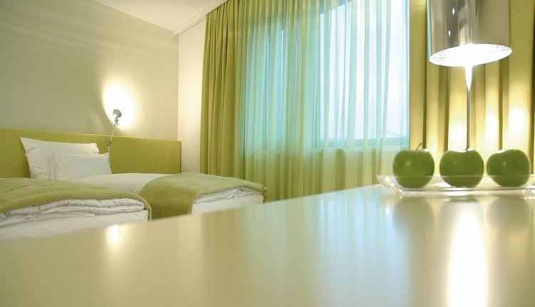 Moderne comfortabele kamers in Roomz Vienna Prater