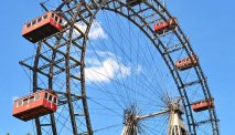 Het beroemde Wiener Riesenrad in Prater