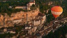 Bedevaartsoord Rocamadour in de Dordogne