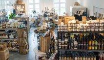 Winkel van hotel Refborg met heerlijke producten