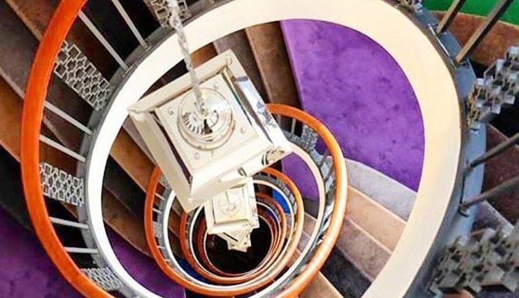 Kleurrijke trappen