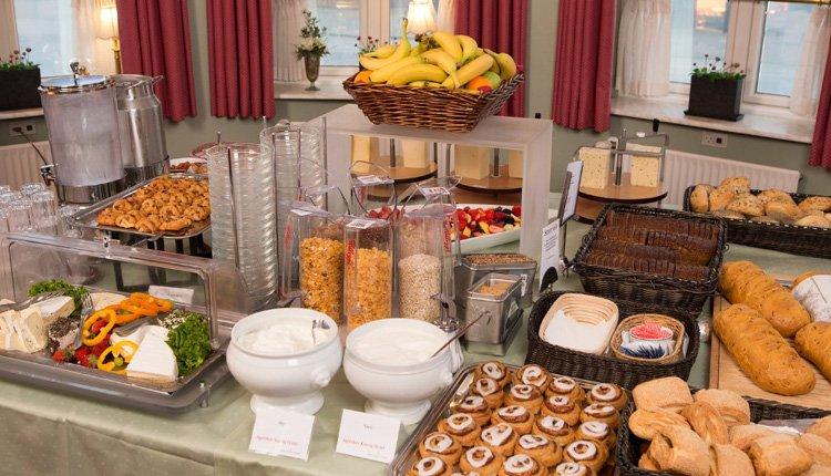 Heerlijk ontbijtbuffet