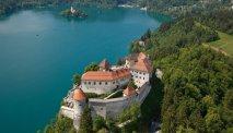 Prachtige meer van Bled