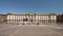 Grote stad Toulouse