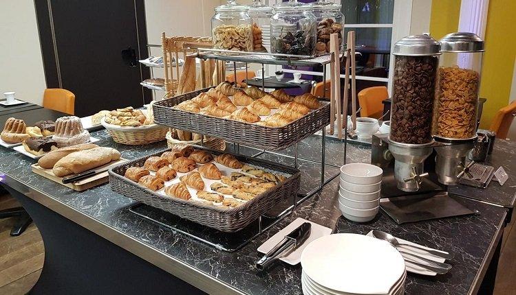 Een heerlijk en uitgebreid ontbijt