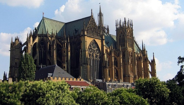 De prachtige stad Metz