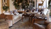 De lounge met gezellige zithoek