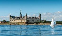 Kasteel Kronborg bij Kopenhagen